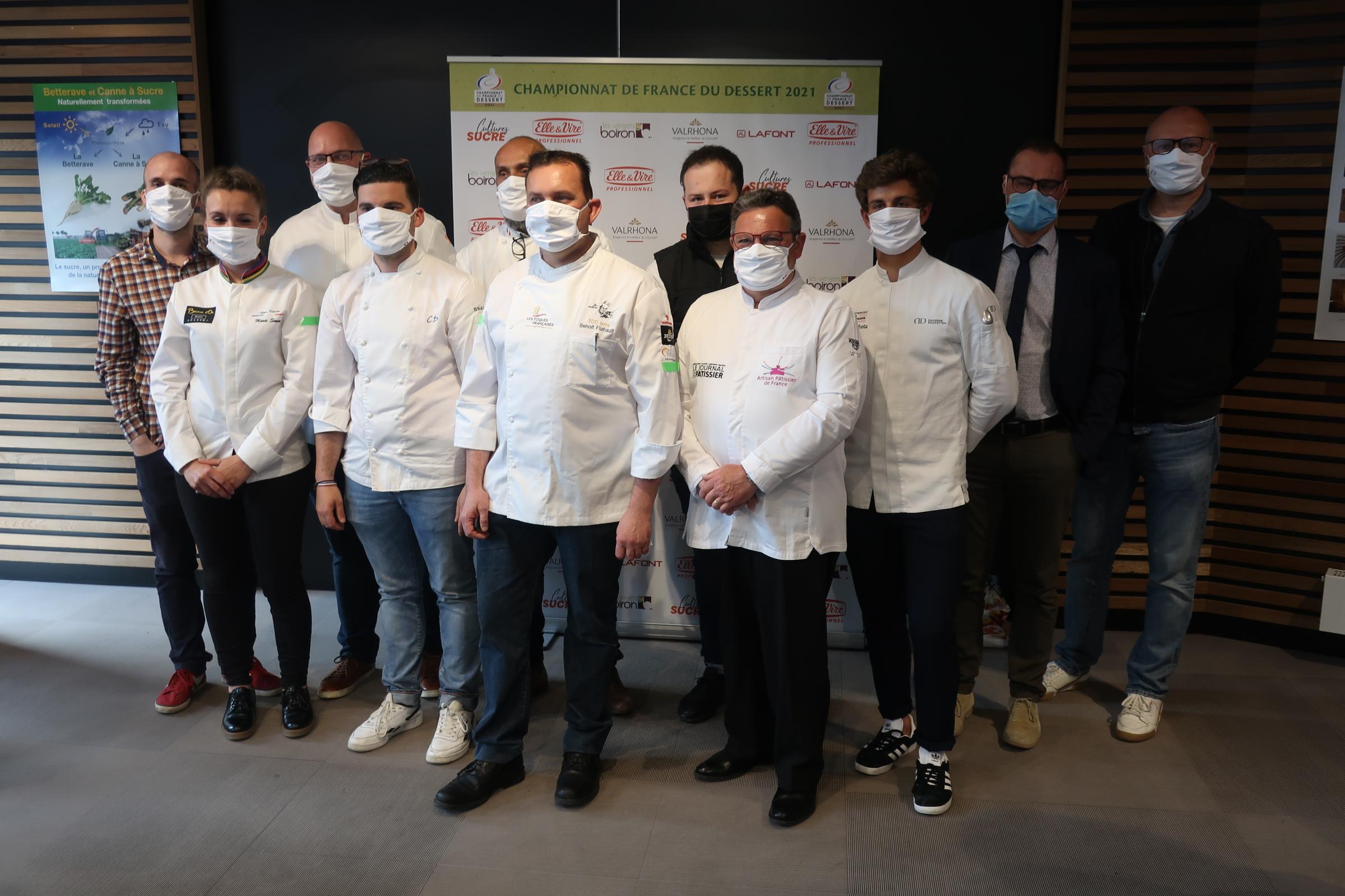 Championnat de France du dessert 2021