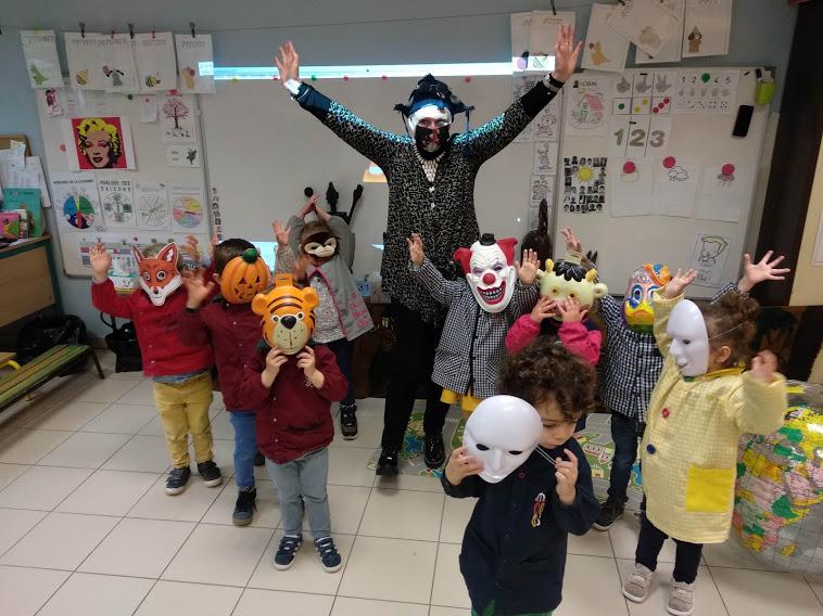 Des masques… Et vous !